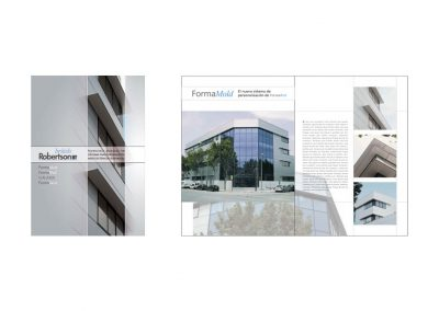 Empresa industrial British Robertson - Diseño y maquetación de catálogo de producto